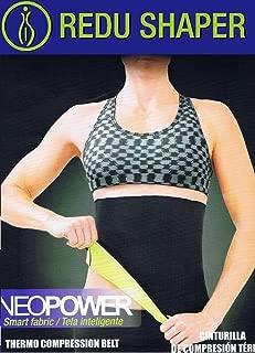 Authentic REDU SHAPER NEW UNISIZE Waist Belt Mens/Womens Lose Weight for a Hot Shape Genuine Neoprene
