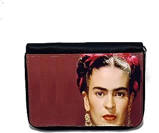 Portafoglio Donna Malibu Rosa Frida Kahlo Con Farfalle2