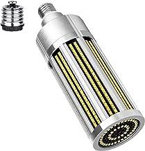 100W Super Bright Corn LED Light Bulb 4000K Warm White 10185 Lumens Equivalent 800W Incandescent Bulbs, 360 Degrees E27/E4...