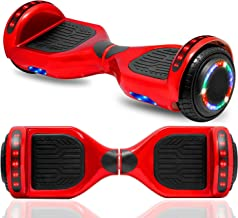 """cho New Hoverboard Electric Smart Self Balancing Scooter with Built-in Wireless Speaker 6.5"""" LED Wheels and Side Lights fo..."""