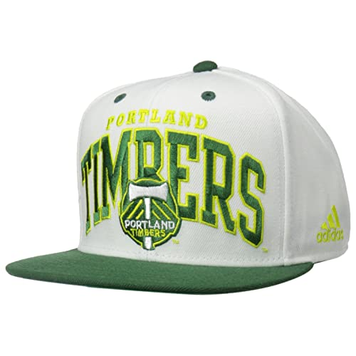 41e1d2442ac adidas MLS Men s Team Name Two Tone Flat Brim Snapback Hat
