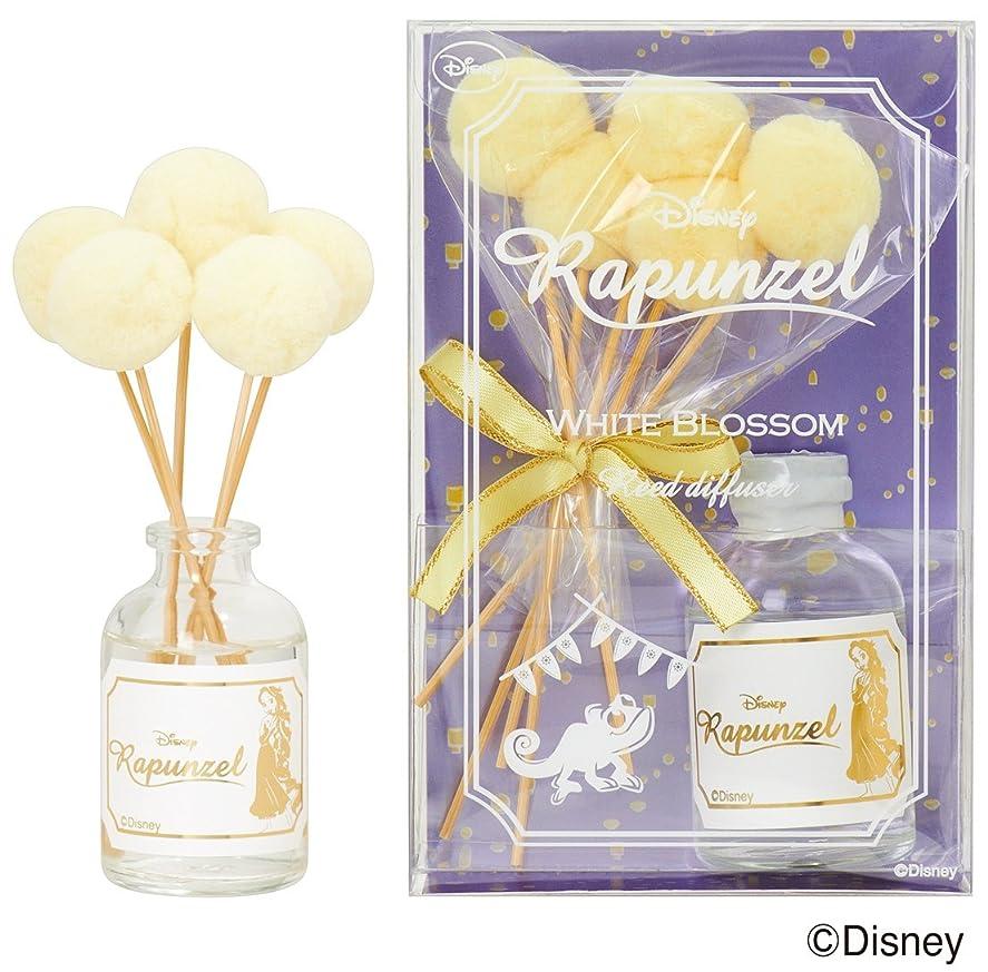つらい世界的にマイクロディズニーフレグランスコレクション ラプンツェル リードディフューザー ホワイトブロッサム 30ml(室内用芳香剤 ルームフレグランス アロマ 甘いクチナシの香り)
