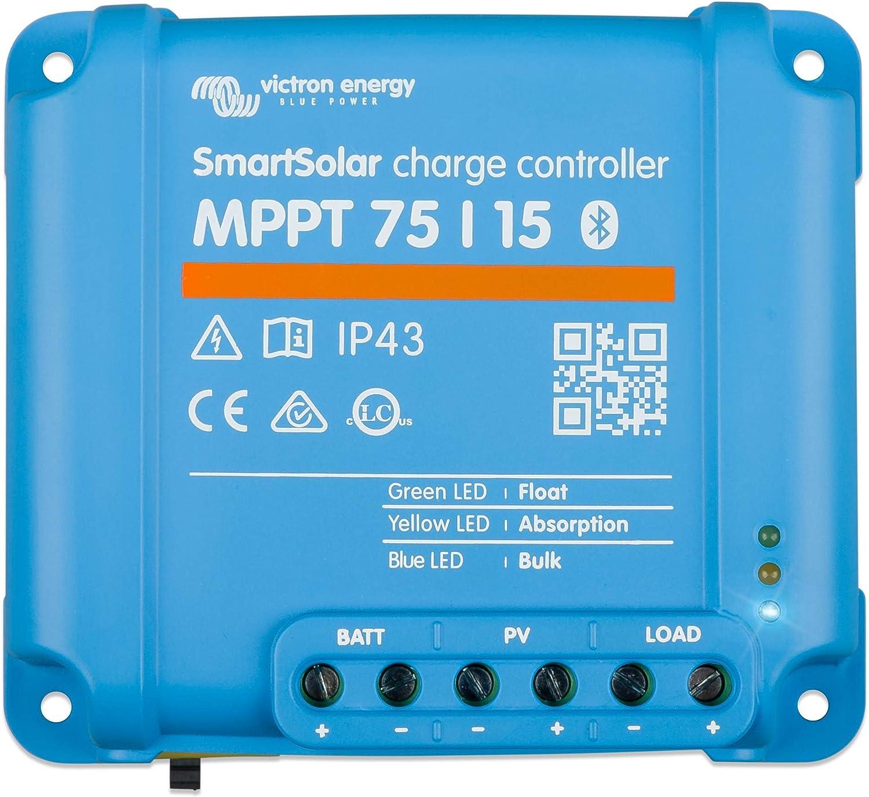 Victron Energy SmartSolar Baltimore Mall MPPT 75V 15 Charg amp Solar Online limited product 24-Volt 12