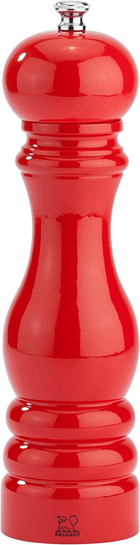 Peugeot 31053 Paris Classic Salt Mill, 8-3 4 , Poppy Red