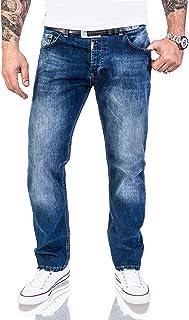 Lorenzo Loren Men's Jeans Denim Jeans Used Look Regular Fit L S-XXL, W42'' W44''