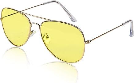 2f48fa4e0 Sunny Pro Aviator Sunglasses Colored Tinted Lens Glasses Metal UV400  Protection