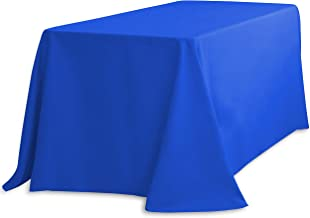 LinenTablecloth 156 Inch Rectangular Polyester Tablecloth