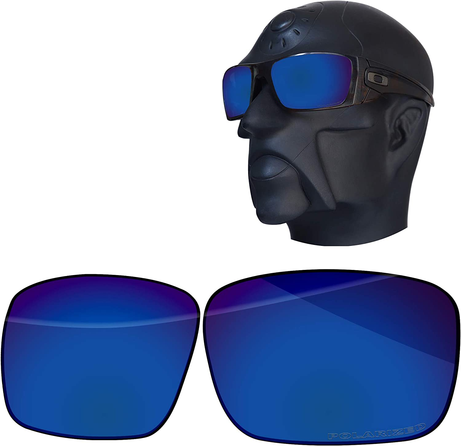 Limited time sale Ensky Replacement Lenses for Oakley Sunglasses Max 46% OFF Fuel OO9096 Cell