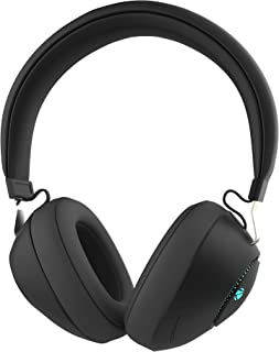 Zebronics Zeb-Duke Bluetooth Headphone with Voice Assistant Support, Multifunction Button, AUX Input and RGB Lights (Black)