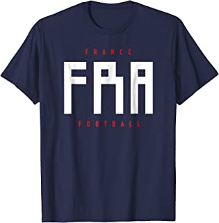 France Football Soccer Champions Du Monde T-shirt