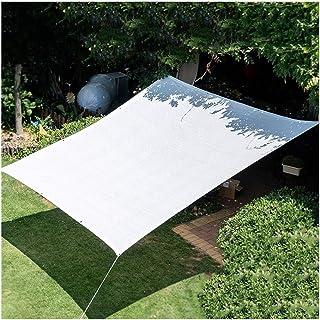 SHIJINHAO Shading Cloth Shading Net,BBQ Area Anti-UV Edge Reinforcement Punch Design Encrypted White Polyethylene, 22 Size...