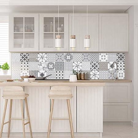 stickers muraux cuisine sticker mural carreaux de ciment adhesif mural stickers muraux azulejos sticker carrelage adhesif mural salle de bain
