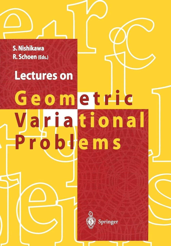 アクセスアームストロング冷蔵庫Lectures on Geometric Variational Problems