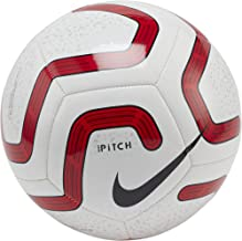 Nike Premier League Pitch Soccer Ball- (White/Red)