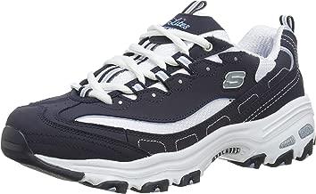 Skechers Women's D'Lites Memory Foam Lace-up Sneaker