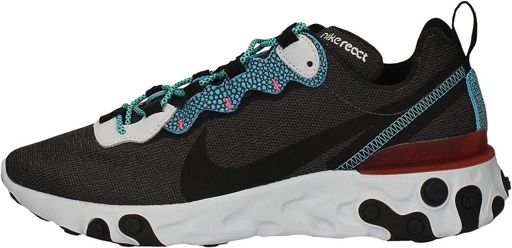 Nike React Element 55 Se, Chaussure de Course Homme : Amazon.fr ...