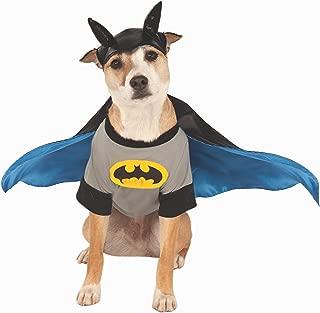 DC Comics Batman Pet Costume Shirt With Cape