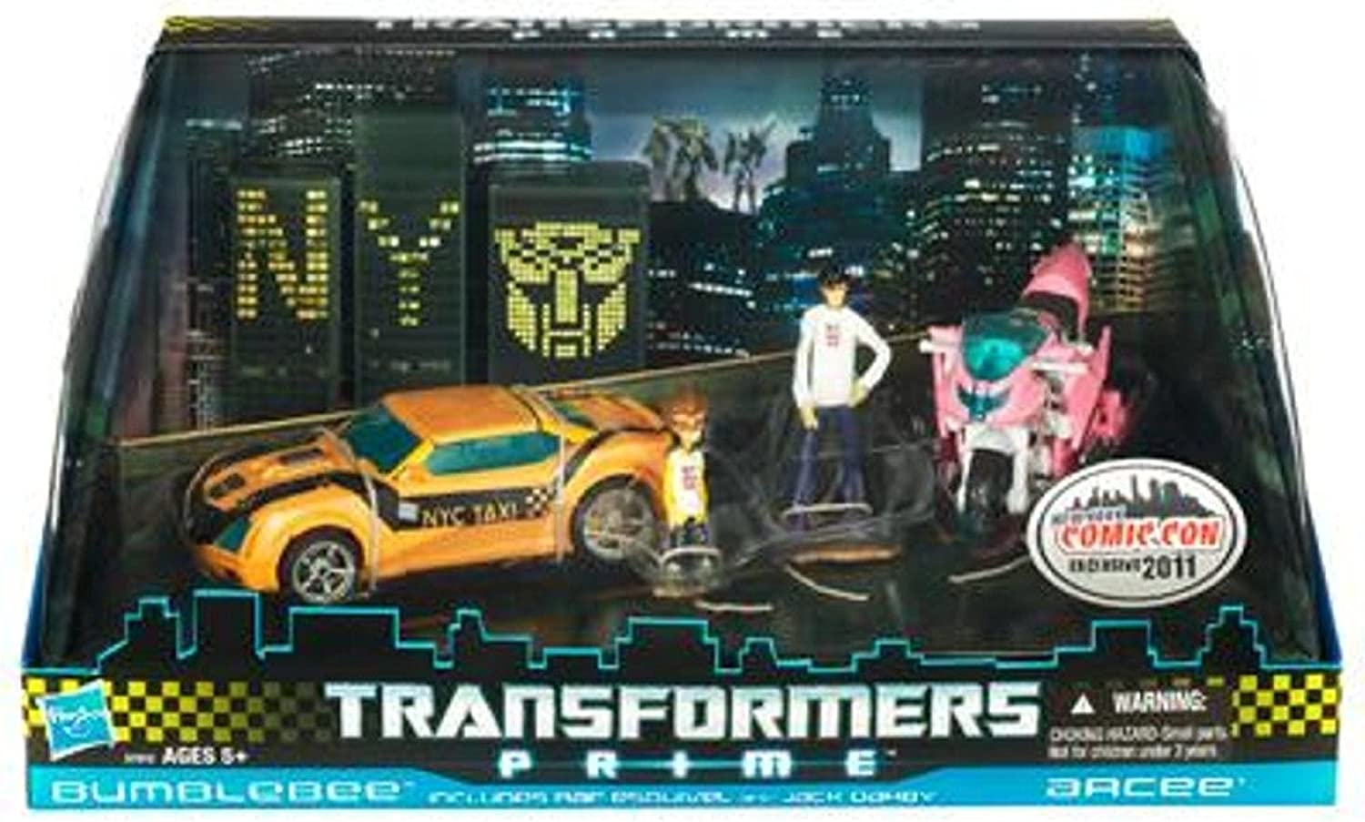 [Parallel import goods] Comic Con limited Transformer Prime Bumblebee & Arcee (japan import)
