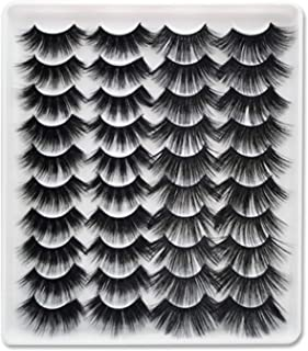 20 Pairs Faux Mink Hair False Eyelashes Natural Eyelashes Extension 8