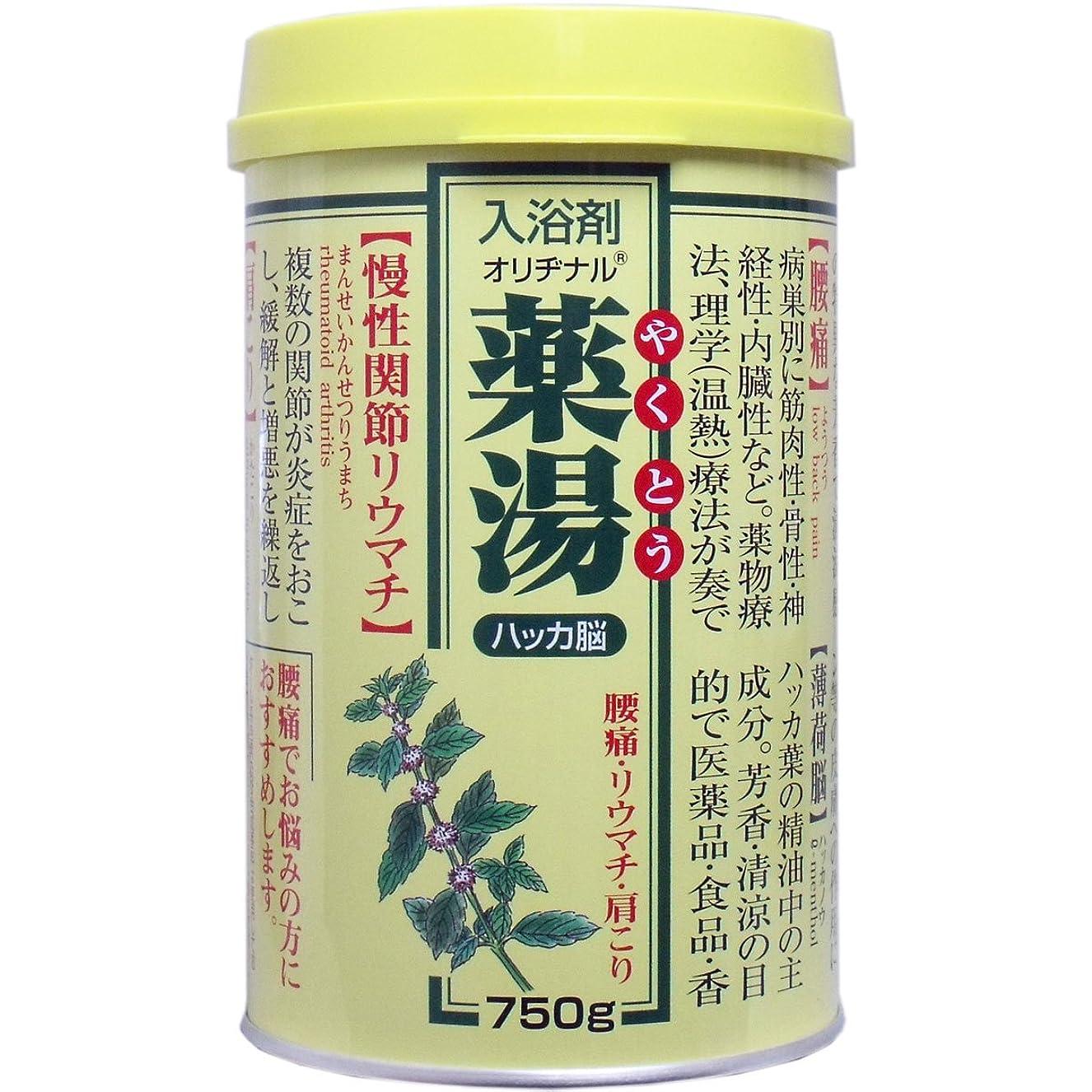 テザー遺産軸【まとめ買い】NEWオリヂナル薬湯 ハッカ脳 750g ×2セット