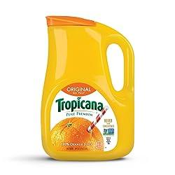 Tropicana, Orange Juice, No Pulp, 89 oz