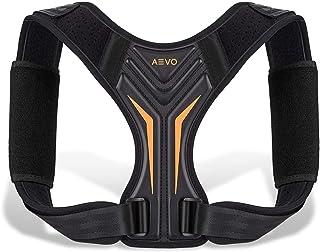 اصلاح کننده وضعیت جمع و جور AEVO برای خانمها و آقایان ، بریس پشتی قابل تنظیم برای پشتیبانی از غده ، تسکین درد گردن ، شانه و کمر ، صاف کننده کمر راحت و نامرئی ، ل