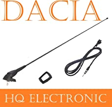 Asta 24/cm universale per tettuccio attivo amplificato FM radio AM auto antenna Mast tetto antenna antenna con base e guarnizioni