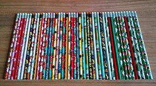 LMWB Student penna lärande skriva penna Hb tecknat mönster trä värmekrympningsfilm med radergummi är uppdelad i 50/70/100 ...