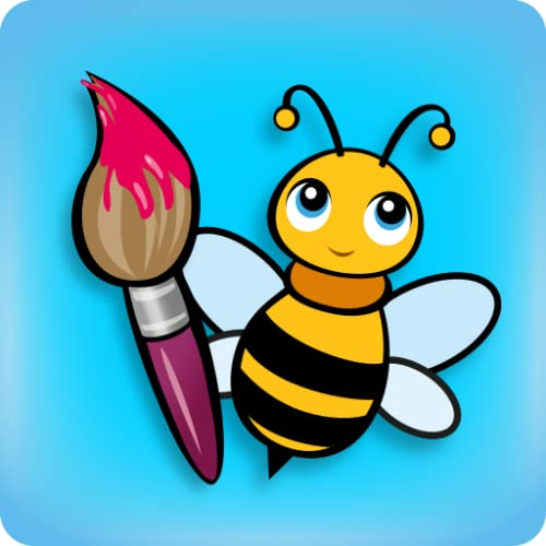 BeeArtist - Zeichnen für Kinder. Malen lernen. Kinderspiele App.