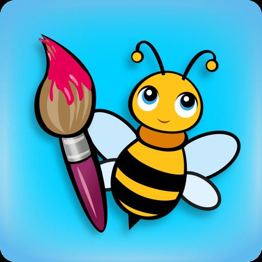 BeeArtist - Dibujos para Niños. Juego de dibujo. Juego para Dibujar con el dedo.