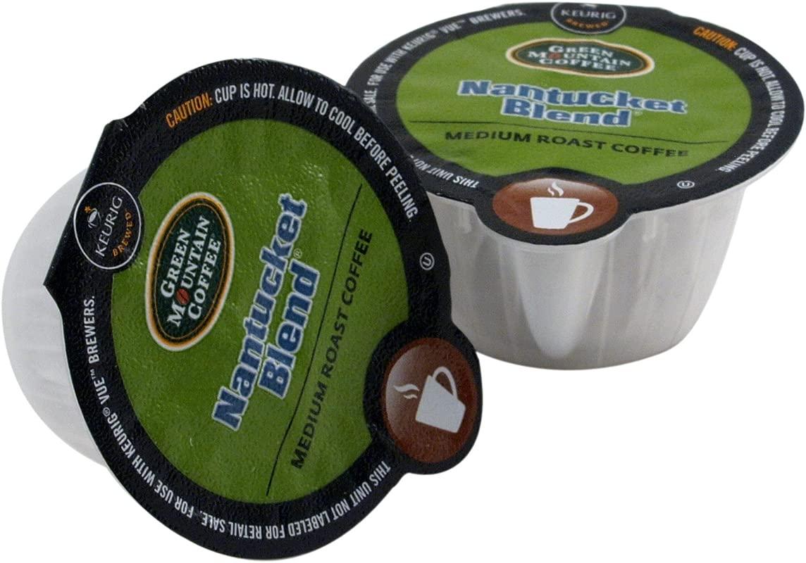 Green Mountain Coffee Nantucket Blend Vue Packs For Keurig Vue Brewers 16 Count