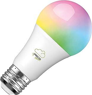 PROCOT SMART Glödlampa - Dimbar (2700-6000K) LED + RGB (Fullt färgspektra) - Remote control, Voice, Fjärrstyrning/Röststyr...