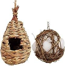 3Cats Hummingbird House with Bird Nesting Materials