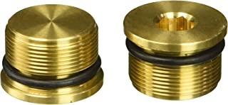Lowbrow Customs 3194 Brass Low Profile Fork Cap (for 39mm Harley-Davidson Fork Tubes)