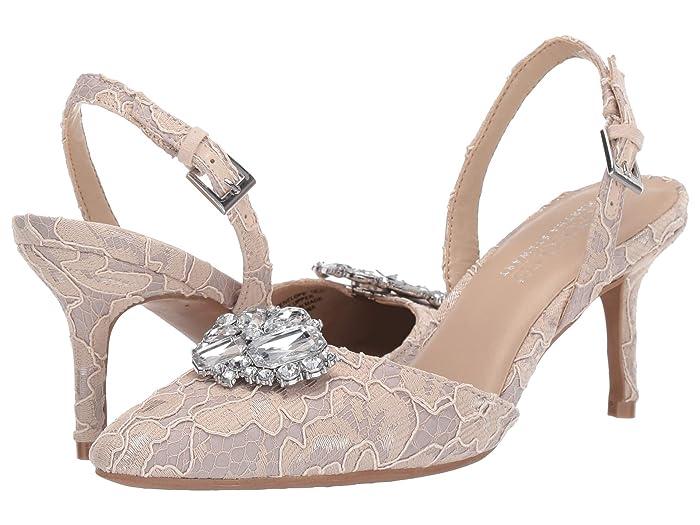 Vintage Wedding Shoes, Flats, Boots, Heels Aerosoles Martha Stewart Penelope Bone Fabric Womens Shoes $119.00 AT vintagedancer.com