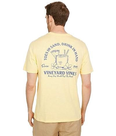Vineyard Vines Short Sleeve Toes in the Sand Slub T-Shirt