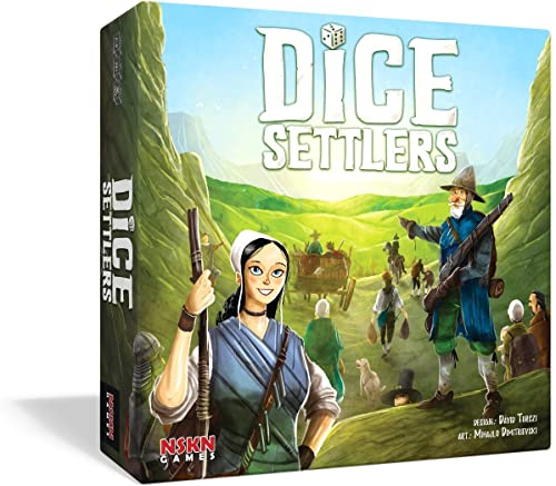 NSKN GAMES Dice Settlers - English
