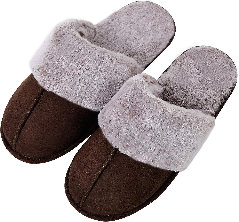 Complete Free Shipping Dechic Women's Max 73% OFF Memory Foam Slippers Anti-Slip Rubber Sole w