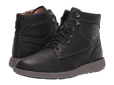 Clarks Un Larvik Peak (Black Oily Leather) Men