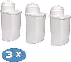 Juego de 4 filtros antical para cafeteras autom/áticas Brita Intenza VeroCafe Bosch TCZ7033 VeroAroma VeroBar VeroProfessional