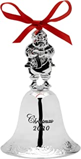 Wallace 2020 Grand Baroque Bell Silver-Plated Christmas Holiday Ornament Amazon.com: Wallace   Bells & Sleigh Bells / Ornaments: Home & Kitchen