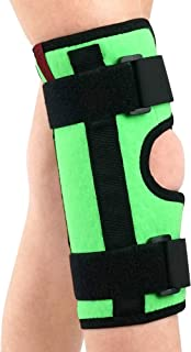 ORTONYX Kids Knee Immobilizer - Breathable and Lightweight - Straight Leg Support - Knee Splint - Height 13