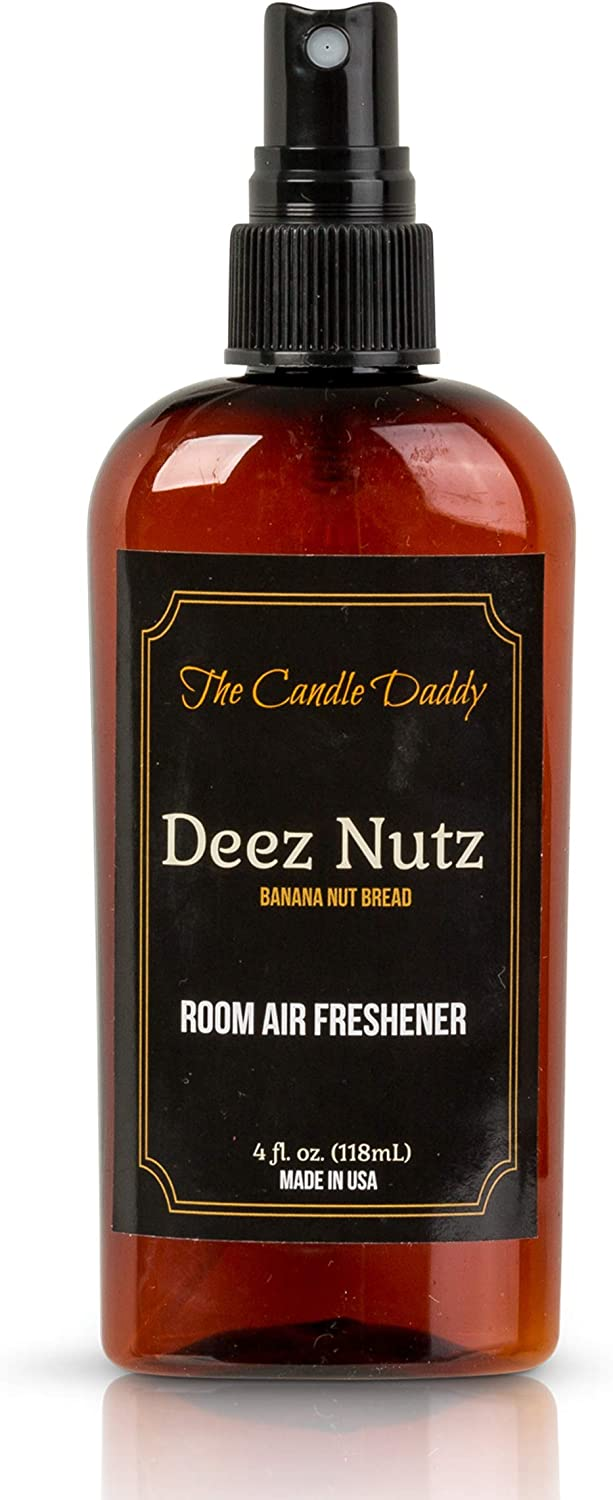 The Candle Daddy Choice Deez 25% OFF Nutz Scented - Freshener B Funny Air Spray