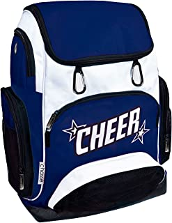 Chassé Cheer Weekender Backpack For Girls - Cheerleading Bag With 2 Color Logo And Stars