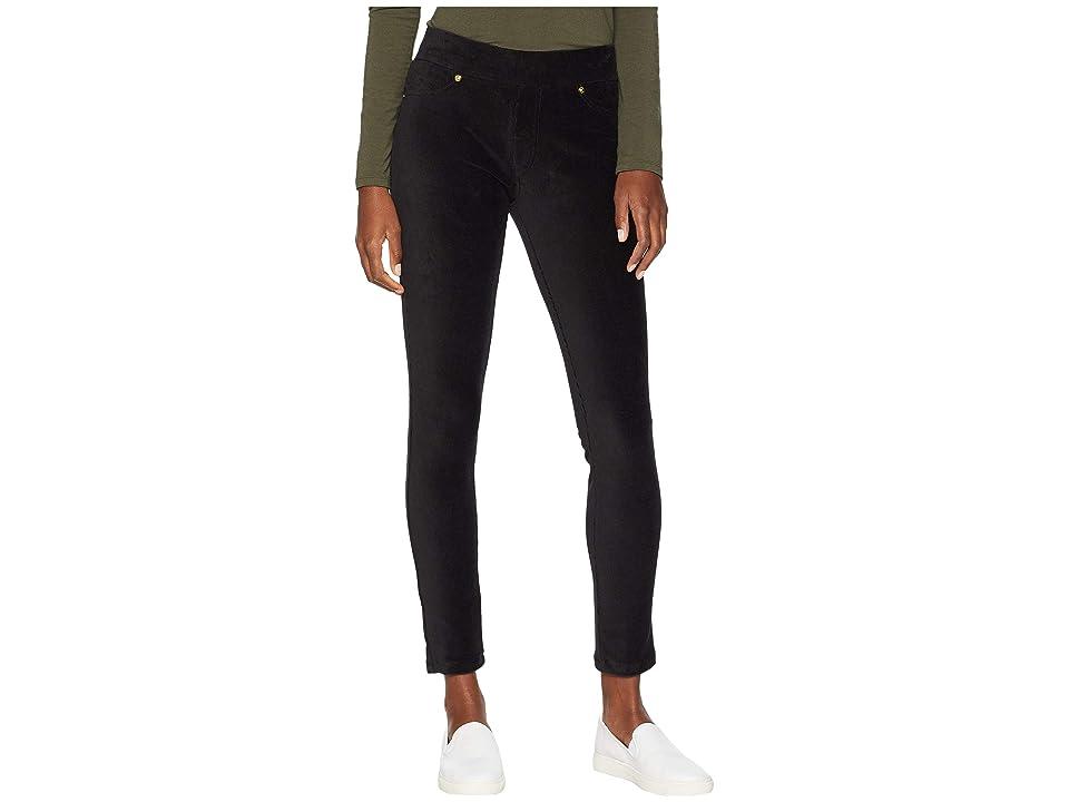 MICHAEL Michael Kors Corduroy Pull-On Leggings (Black) Women