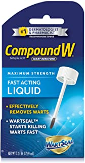 Compound W Maximum Strength Fast Acting Liquid Wart Remover, 0.31 fl oz