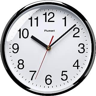 Plumeet Silent Wall Clock, 10