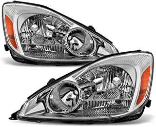 ACANII - For 2004-2005 Toyota Sienna Headlights Headlamps Driver + Passenger Side 04-05 Halogen Lights