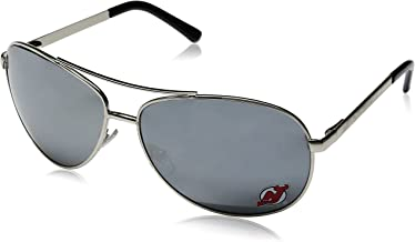 Siskiyou NHL New Jersey Devils Aviator Sunglasses