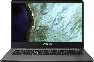 Asus Intel Celeron N3350 4GB Memory 32GB eMMC 14-Inch Chromebook (Slate Gray)
